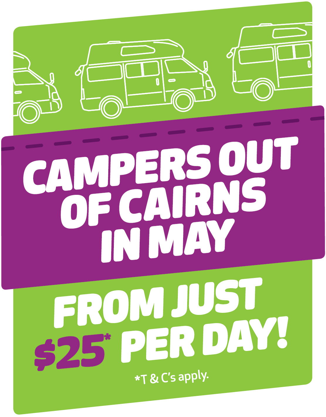 cairns low rates promo