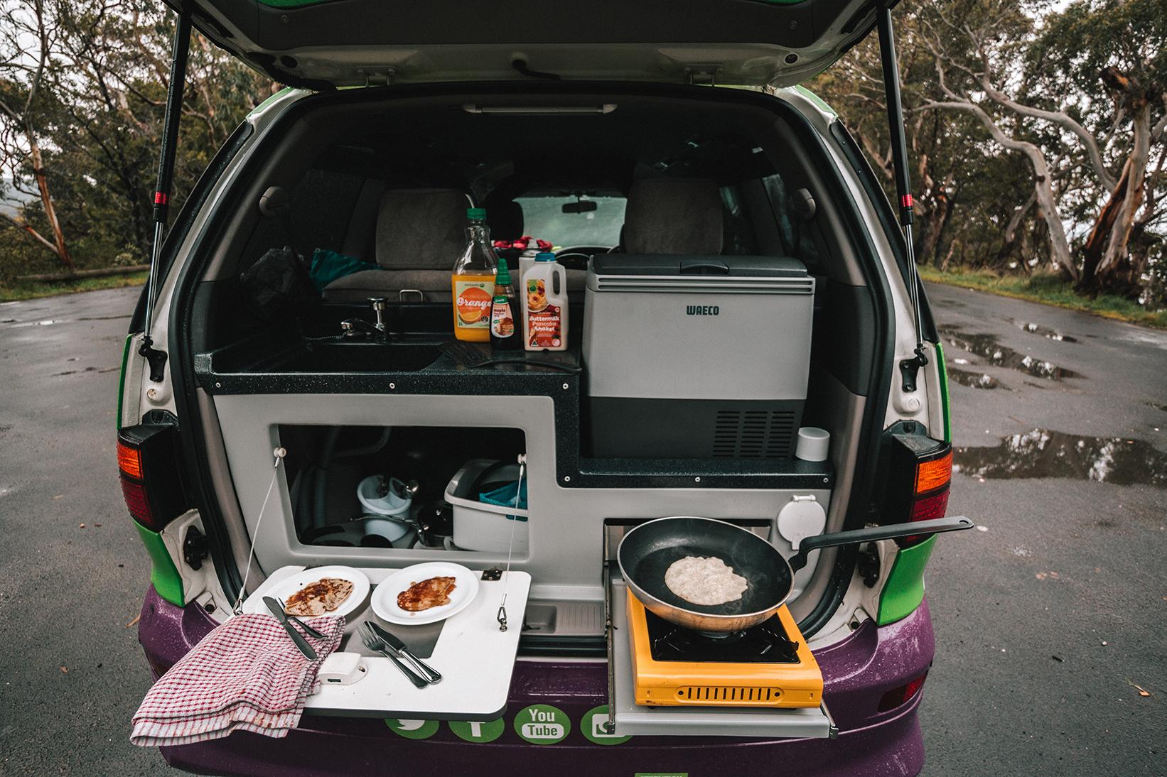 Minivan Rental Deals >> Mouthwatering Cinnamon Roll Pancakes