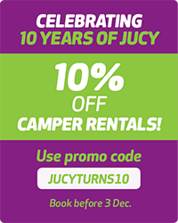 ten percent off campervans