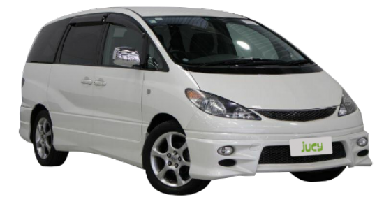 Our large and spacious 8 Seater Car for rent from JUCY