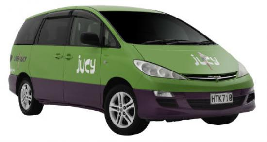 8 Seata 8 Person Car For Hire Jucy Rentals