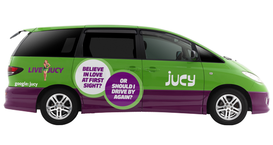 Jucy Crib Fully Equipped 2 Berth Campervan Jucy Rentals